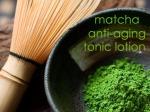 matcha anti aging tonic lotion