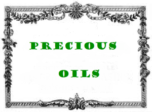 antic label precious oils