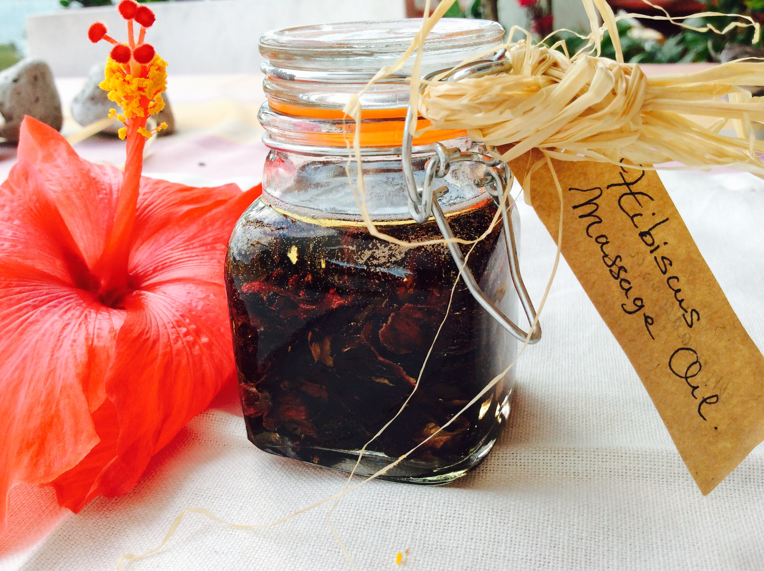 Hibiscus flower macerated oil for cosmetic diy frances natural hibiscus macerated oil recipe izmirmasajfo