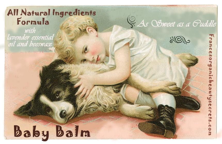 vintage baby balm diy recipe