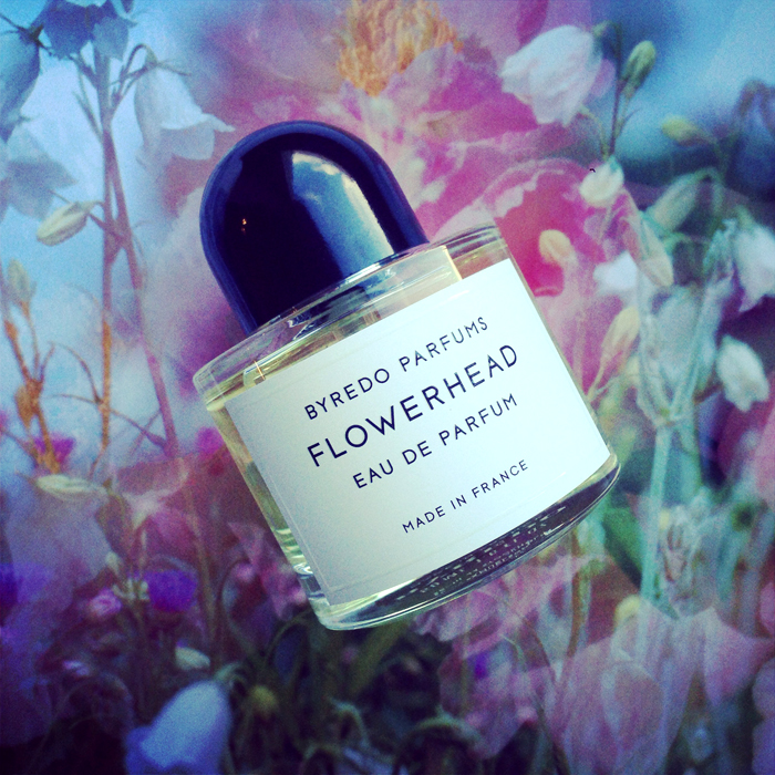 Flowerhead fragrance by byredo with jasmine essential oil