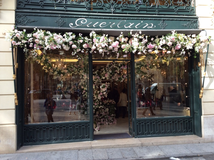 Guerlain window inspired by spring