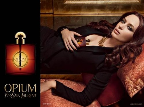 opium from YSL with cedar wood fragrance