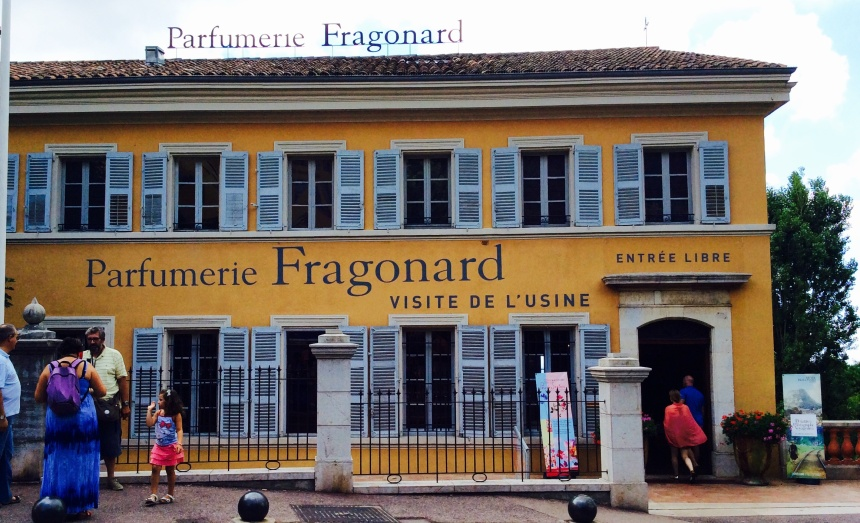 Fragonard, famous perfumery in Grasse
