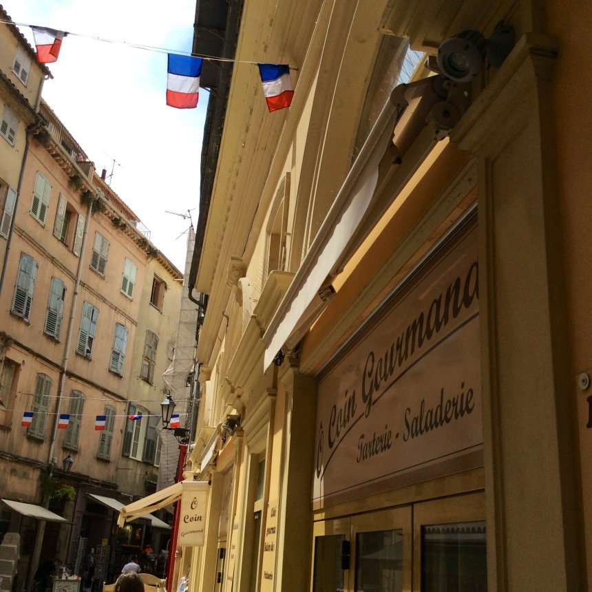 Streets in Grasse capital of essential oils photography