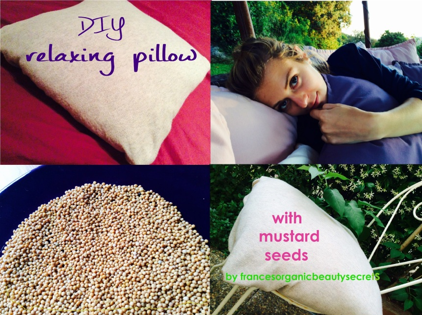 relaxing pillow composit