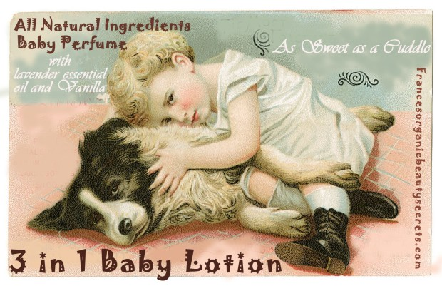 3 in 1 baby lotion and perfume