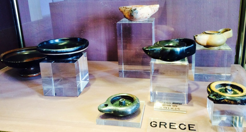 aromatherapy antic bottle in Greek Empire