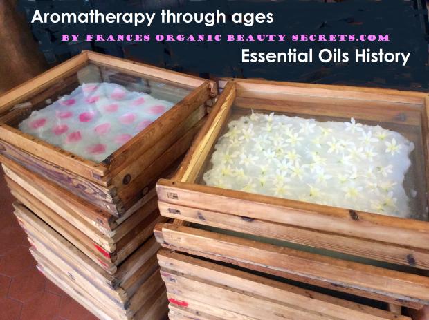 aromatherapy through ages