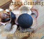 konjac vegetal cleansing sponge