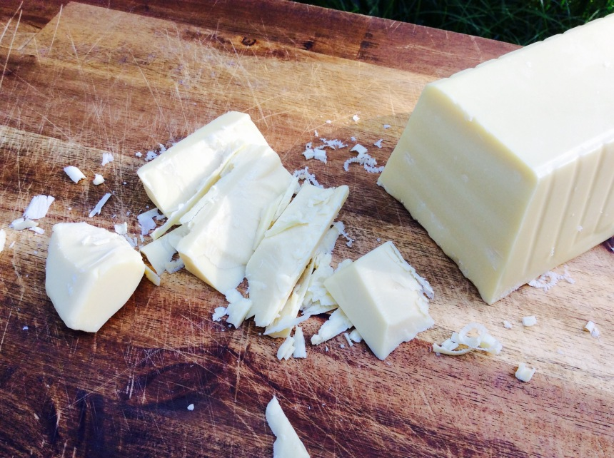 white cocoa butter