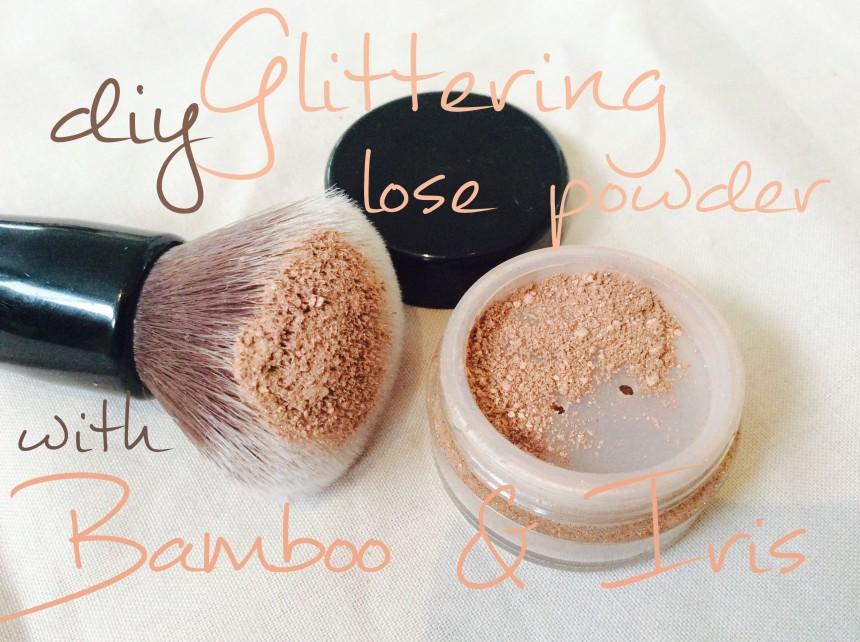 glittering powder nude bamboo iris
