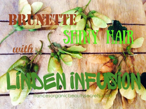 linden infusion for shiny hair