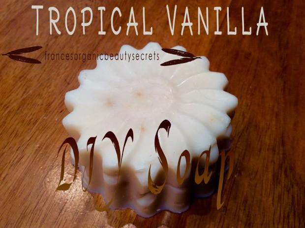 tropical vanilla soap