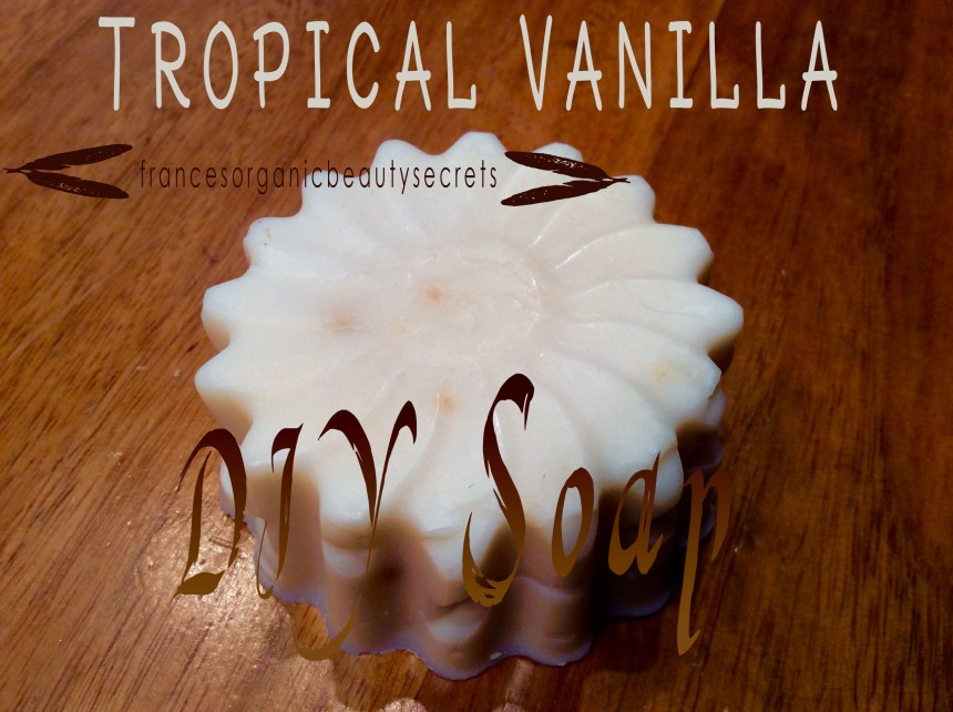 tropical vanilla soap