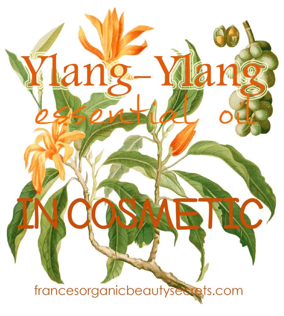 ylang ylang EO in cosmetic