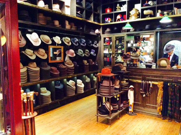 old fashioned australian hat store while shopping for trigeminal cure