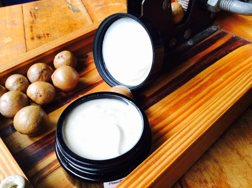 macadamia vegetal oil for skin care cream
