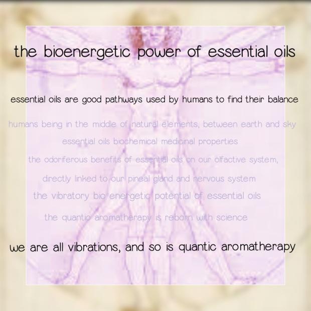 the bioenergeticof aromatherapy