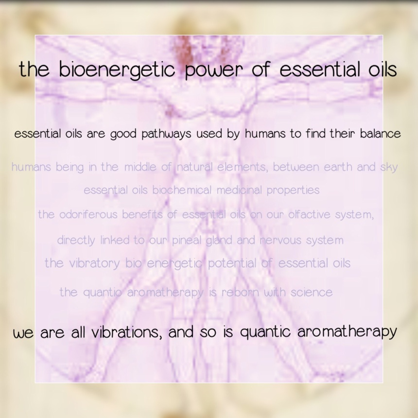 the bioenergeticof aromatherapy