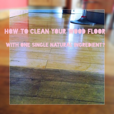 how to clean a wood floor with essential oils
