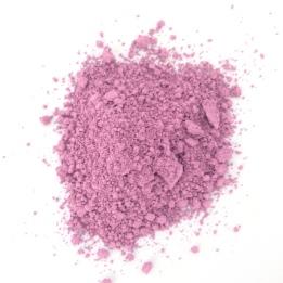 pink natural pigment powder