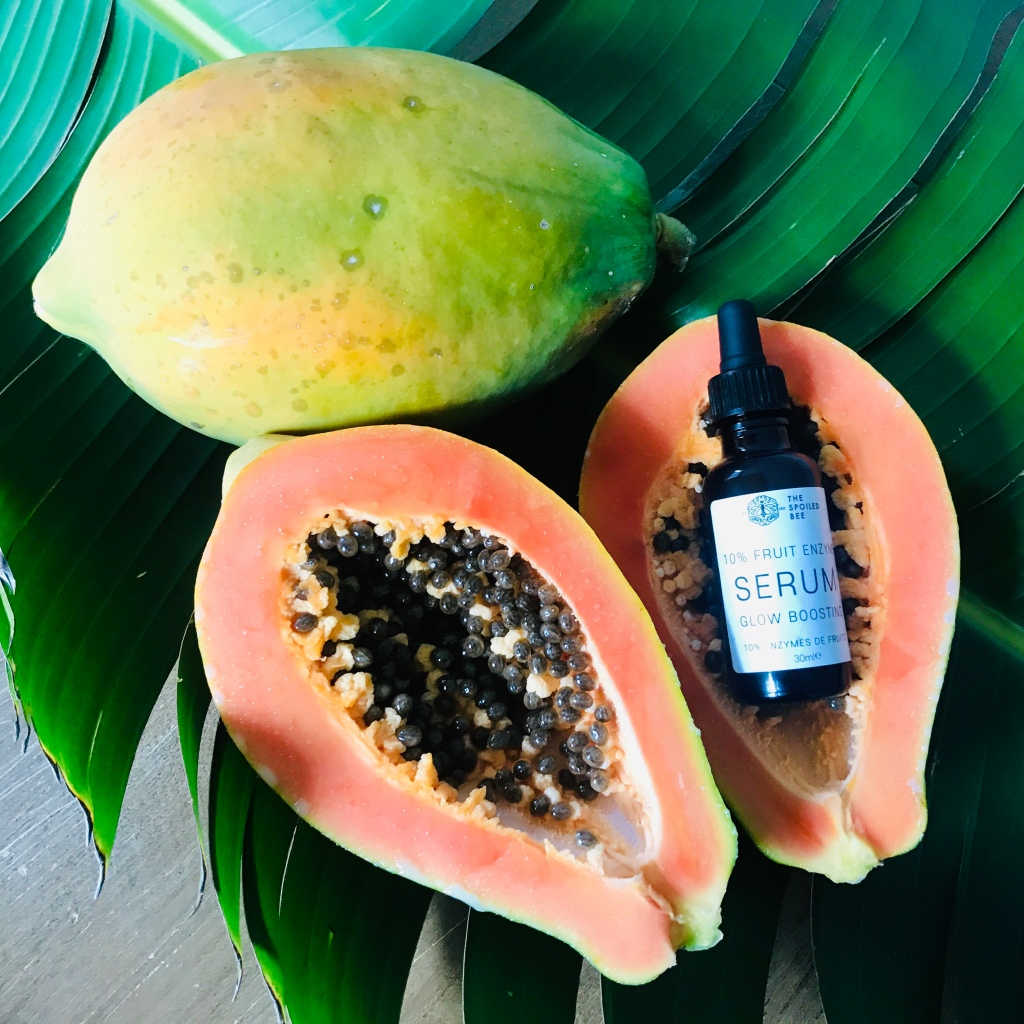 the bold, botanical real natural fruit enzymes serum is much more effective thanks to its whole natural entourage and synergy